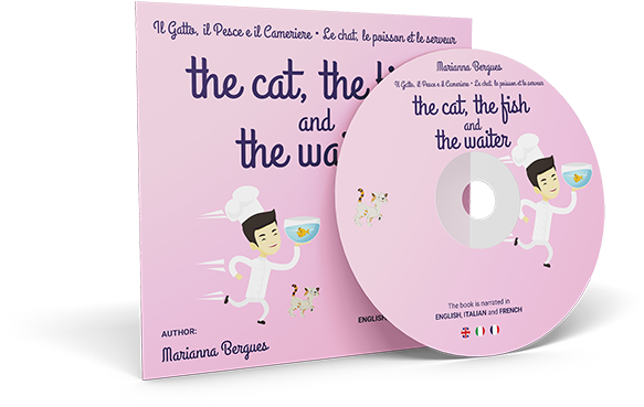 The Cat, the Fish and the Waiter (English, Italian and French Edition)