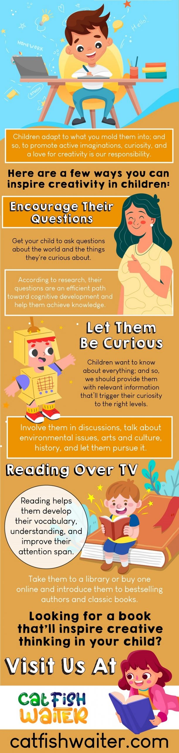 How To Inspire Creative Thinking In Children